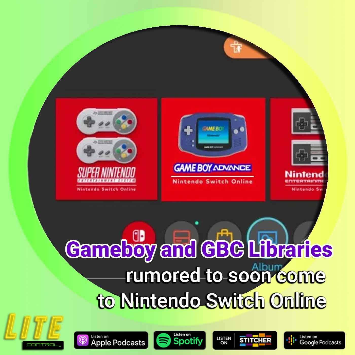 Lite Control 166 - Nintendo Switch Online Rumored To Add Gameboy Library