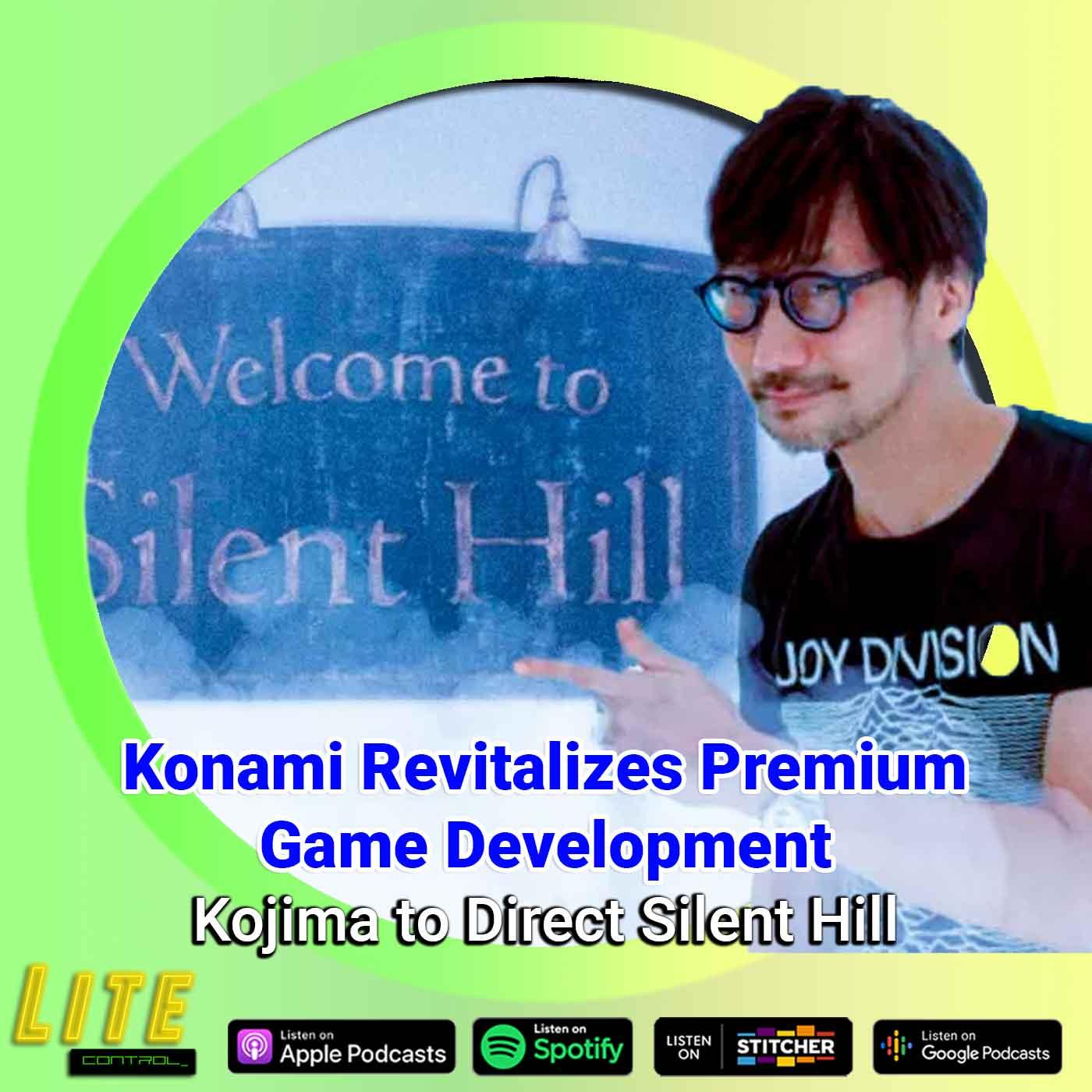 Lite Control 170 - Konami Reportedly Looking to Revive Metal Gear, Castlevania